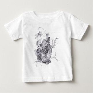 バニーウサギ ベビーTシャツ