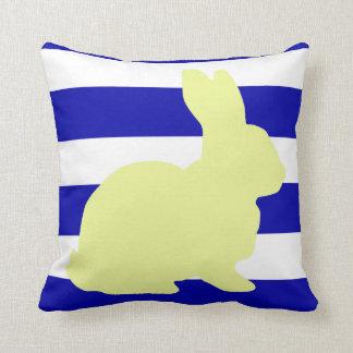 バニー/ウサギのストライプな装飾用クッション クッション