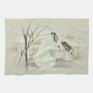 バニー/ウサギ キッチンタオル
