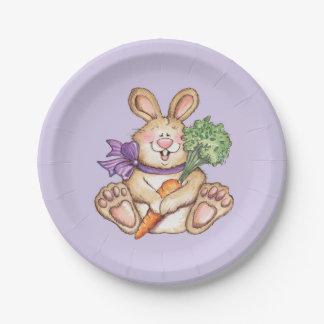 バニー-紙皿 ペーパープレート