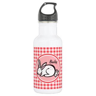 バニー; 赤と白のギンガム ウォーターボトル