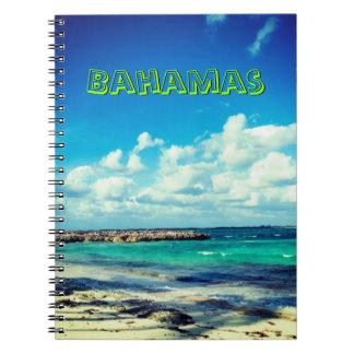 バハマのオーシャンビュー ノートブック