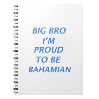 バハマのデザイン ノートブック