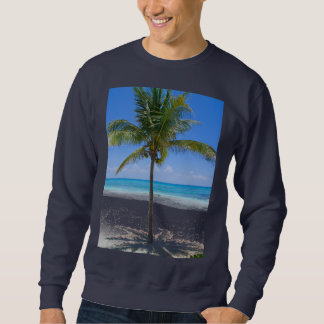 バハマのヤシの木 スウェットシャツ
