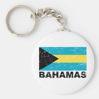 バハマのヴィンテージの旗 キーホルダー