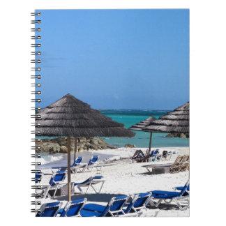 バハマの傘 ノートブック