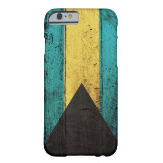 バハマの古い木の旗 BARELY THERE iPhone 6 ケース