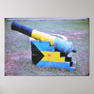 バハマの国防省 ポスター