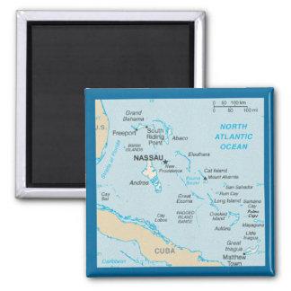 バハマの地図の磁石 マグネット