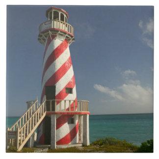 バハマの壮大なBahama島、東の側面: 町 タイル