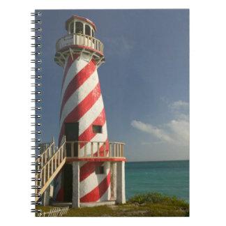 バハマの壮大なBahama島、東の側面: 町 ノートブック