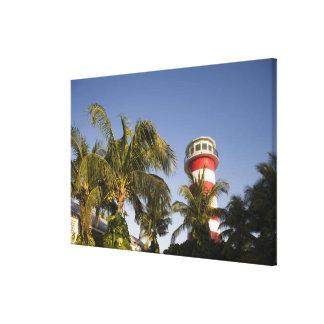 バハマの壮大なBahama島、置くフリーポート キャンバスプリント