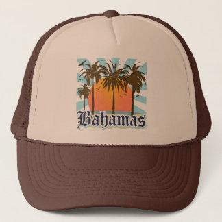 バハマの島のビーチ キャップ