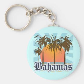 バハマの島のビーチ キーホルダー