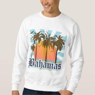 バハマの島のビーチ スウェットシャツ