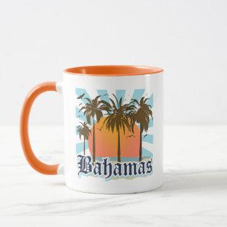 バハマの島のビーチ マグカップ