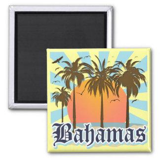 バハマの島のビーチ マグネット