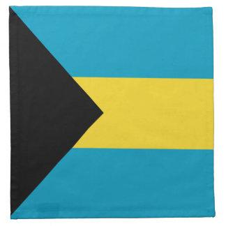 バハマの旗のナプキン ナプキンクロス