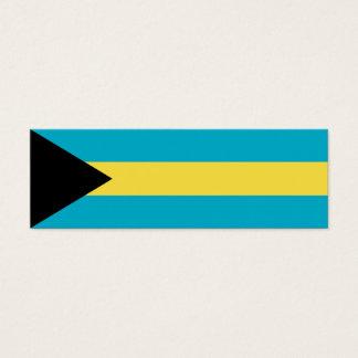 バハマの旗 スキニー名刺