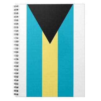 バハマの旗 ノートブック