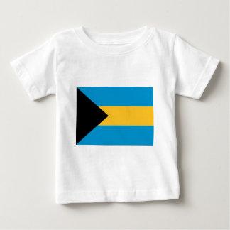 バハマの旗 ベビーTシャツ