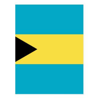 バハマの旗 ポストカード