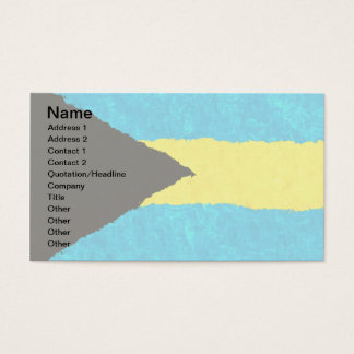 バハマの旗 名刺