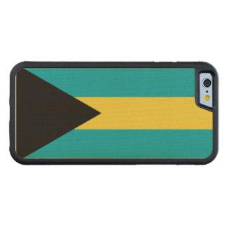 バハマの旗 CarvedメープルiPhone 6バンパーケース