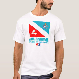 バハマの服装は潜ります Tシャツ