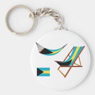 バハマの椅子Keychain キーホルダー
