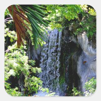 バハマの滝 スクエアシール