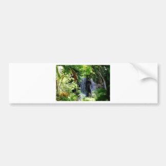 バハマの滝 バンパーステッカー