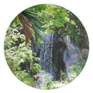 バハマの滝 プレート