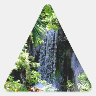 バハマの滝 三角形シール