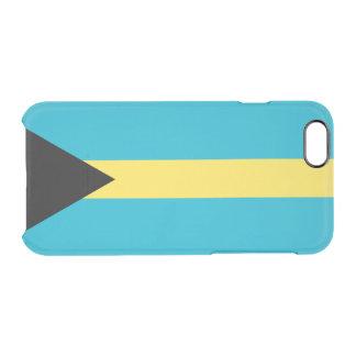 バハマの澄んなiPhoneの例の旗 クリアiPhone 6/6Sケース