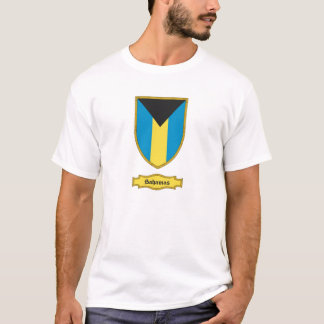 バハマの盾1 Tシャツ