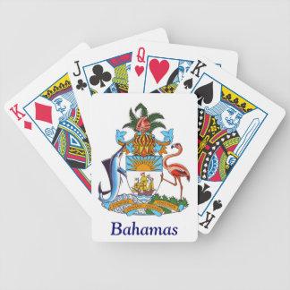バハマの紋章付き外衣 バイスクルトランプ