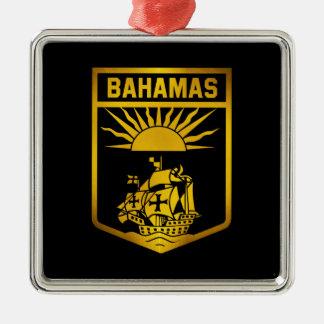 バハマの紋章 メタルオーナメント