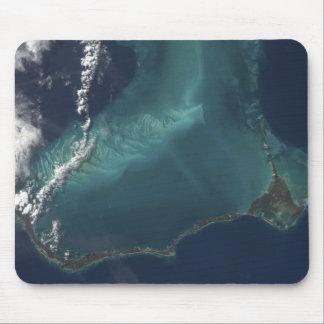 バハマの長く狭いEleuthraの島 マウスパッド