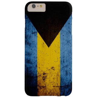 バハマの黒くグランジな旗 BARELY THERE iPhone 6 PLUS ケース