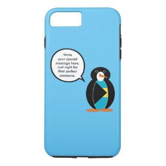 バハマは話すペンギンに印を付けます iPhone 8 PLUS/7 PLUSケース