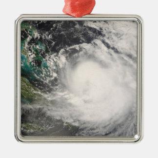 バハマ上のハリケーンハナ メタルオーナメント