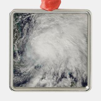 バハマ上の熱帯嵐Noel メタルオーナメント