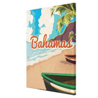 バハマ キャンバスプリント