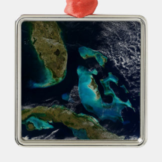 バハマ、フロリダおよびキューバ メタルオーナメント
