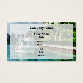 バハマ-楽園の島へのフェリー 名刺