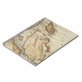 バハマ(1823年)のヴィンテージの地図 ノートブック