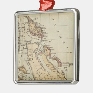 バハマ(1823年)のヴィンテージの地図 メタルオーナメント
