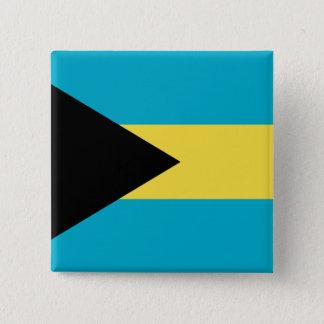 バハマ 5.1CM 正方形バッジ