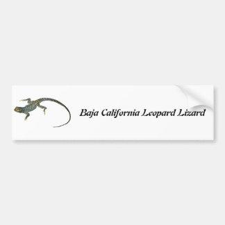 バハ・カリフォルニア州のヒョウトカゲ バンパーステッカー
